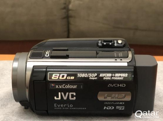 JVC HD Camcorder with 80 GB Built-in Hard Disk