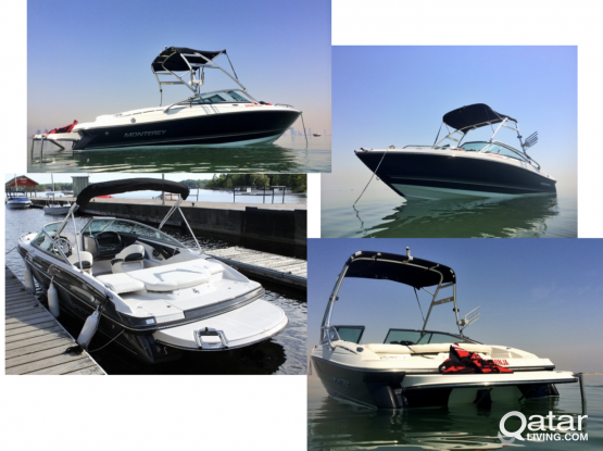 Boat and Jetski for Sale (Monterey 194 FS & SeaDoo RS 300)