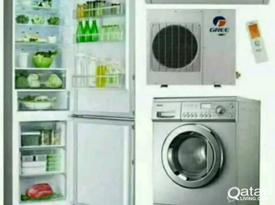 Ac.fridge & washing machine REPEAR. 31351653.