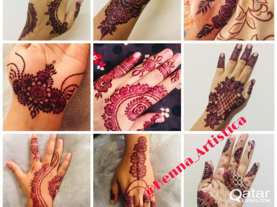 HENNA/MEHENDI ART (Events-Parties) Home Service Available