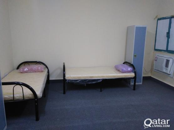 Female Bed space Fully Furnished Available in Najma