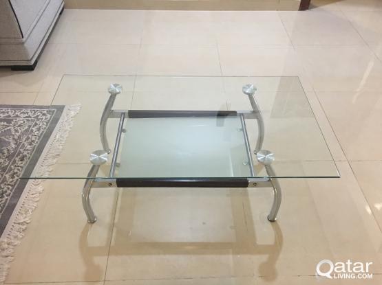 living room table(glass)