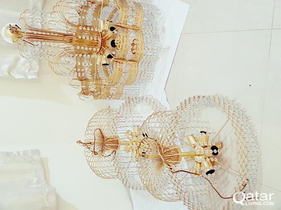 Set of 3 chandeliers Urgent Sale!!!