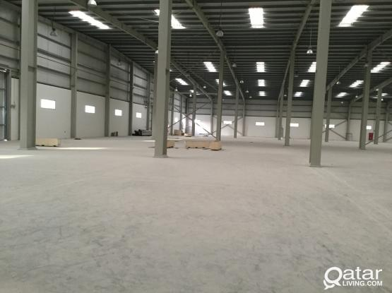 BRAND NEW 6800 SQUARE METER STORE FOR  RENT IN INDUSTRIAL AREA