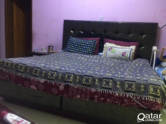 Master King Size Bed.