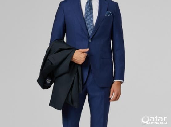 Brand new Italian suit Boggi Milano size 48 unworn due to wrong size