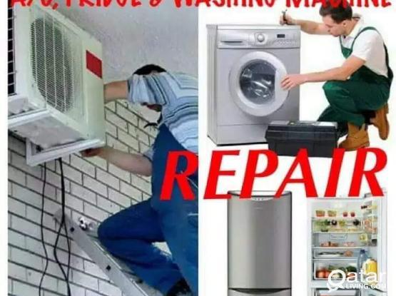 A/C,FRIDGE AND WASHING MACHIN REPAIR.55202942