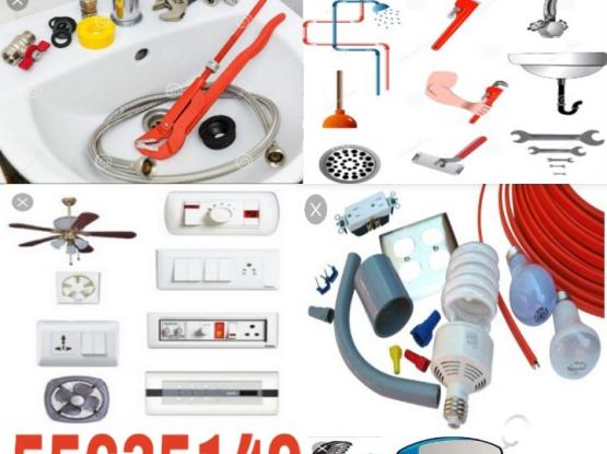 electric, plumbing call me 55635149