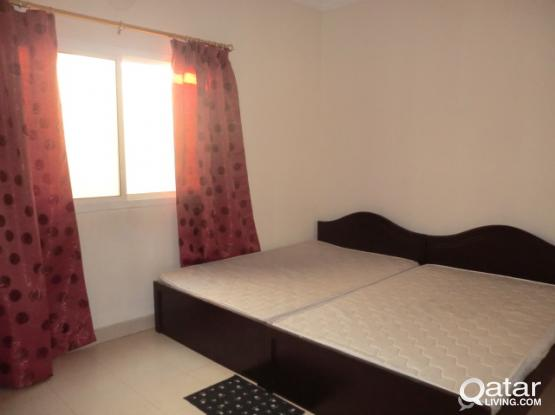Spacious room for two working ladies or a visiting couple