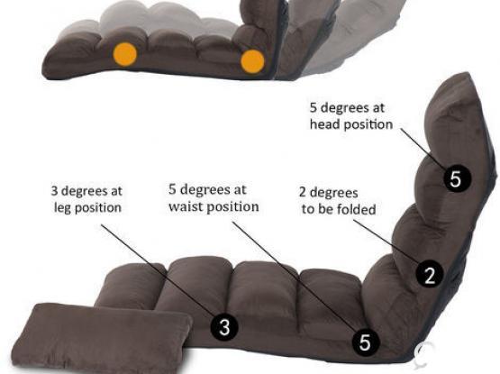 Lounge Sofa (adjustable)