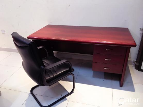 For Sell Office Table and Chair Excellent Condition