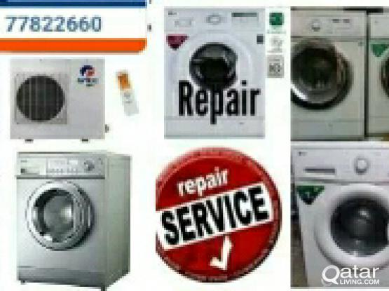 FRIDGE  AC,  WASHING MACHINE √ REPAIR, SERVICE