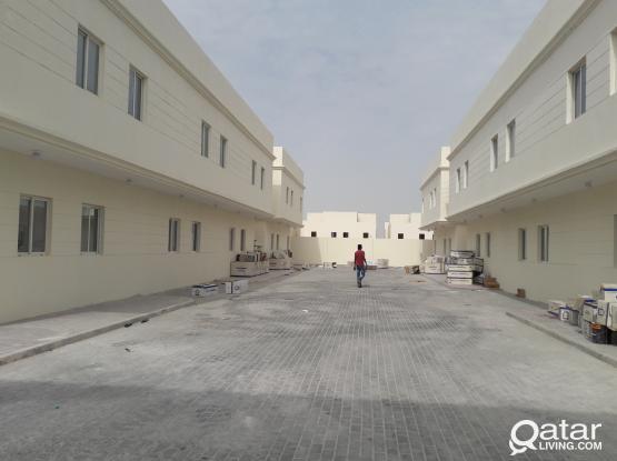 compound villa for rent (45 2bhk, 18 1bhk)