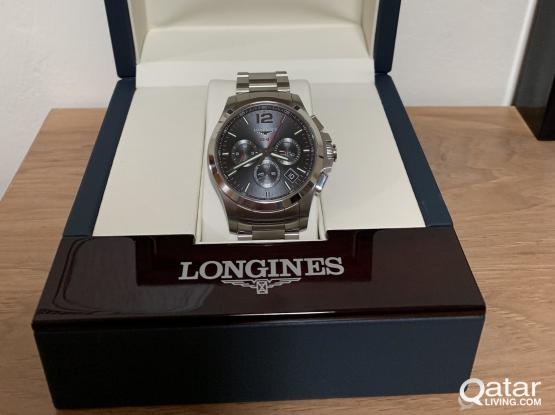Longines Latest VHP chronograph battery not Automatic