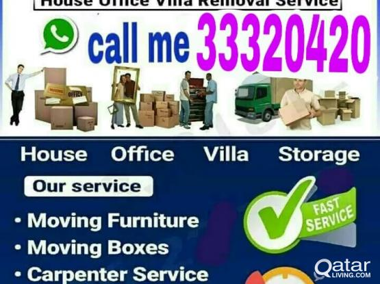 Low Price Moving Shifting Relocation Service@33320420