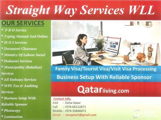 Business Setup With Reliable Sponsor
