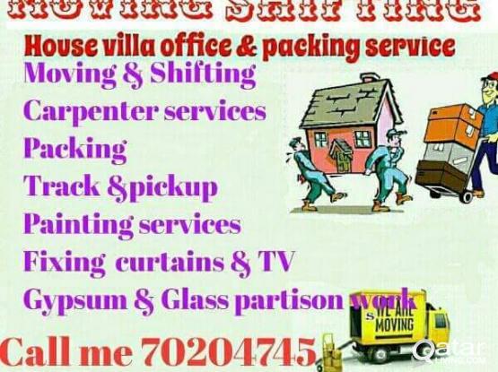 70204745 Moving shifting carpenter painting partition plumbing maintenance work 70204745