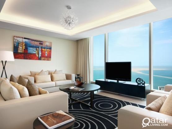 3 Bedroom Luxury Apartments in West Bay with Beach Access