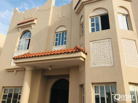 Brand New and Spacious one Bedroom villa apartment available at Al Thumama behind kahrama ( 3 units)