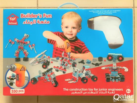 Toy School Bulder's Fun Set 550 pcs - New
