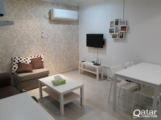Deluxe 1 bhk furnished Flat for rent at Dafna,