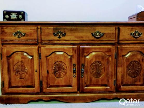 Solid Wood Sideboard / Buffet Table from Home Center