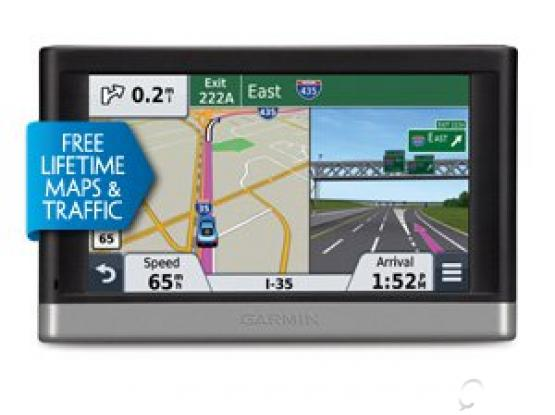 Portable Vehicle GPS with Lifetime Maps and Traffic, Garmin nüvi 2497LMT 4.3-Inch