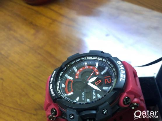 Dual Time Casual Watch