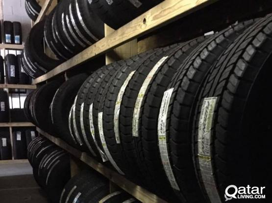 Brand New Tires / Tyres For Sale (With Fitting and Balancing)