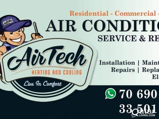 A/C service  Srilankan Technician