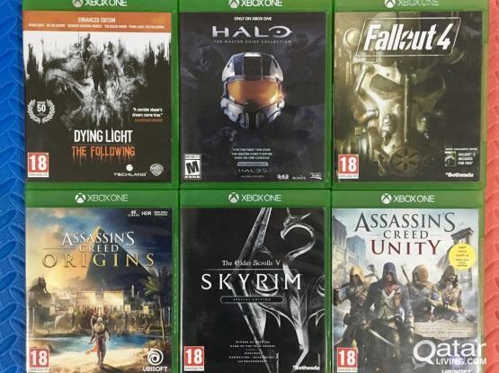 Xbox One games Bundle 1