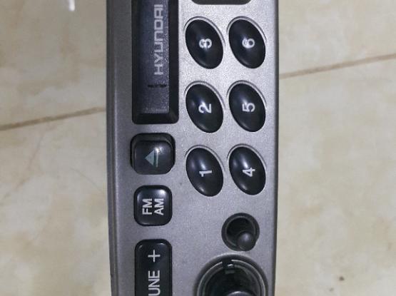 Hyundai H900XG Factory Cassette Head Unit