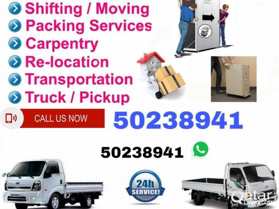 shifting, moving. House, vila & office service , pickup available . your need just call me 50238941