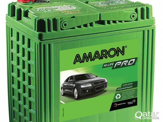Car Batteries - AMARON - Silver Protection Inside