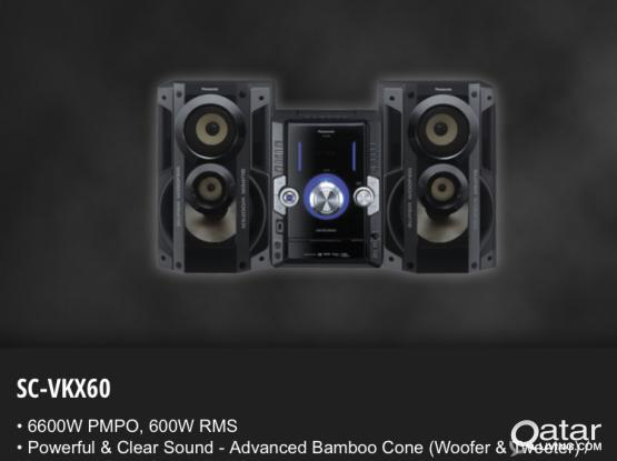 """Combo sale - Panansonic music system and LG led 42"""" TV"""