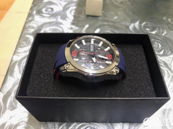 Megir Chronograph Watch - Blue Band