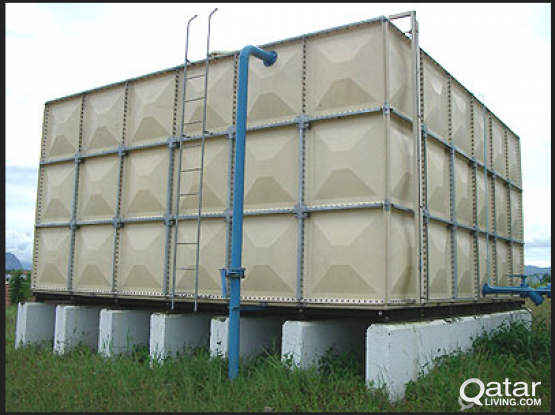 Used GRP Sectional Water Tank for Sale