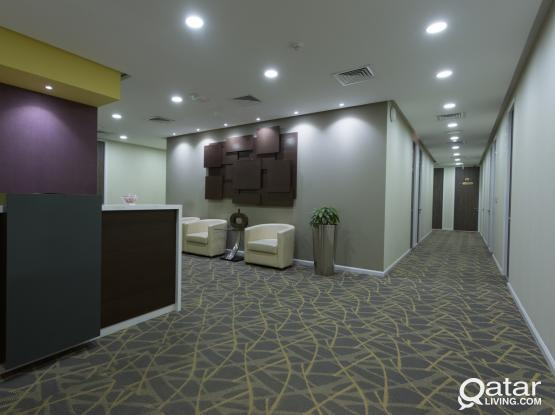 Starting of 11 SQM Fully Furnished Office Space with Trade License