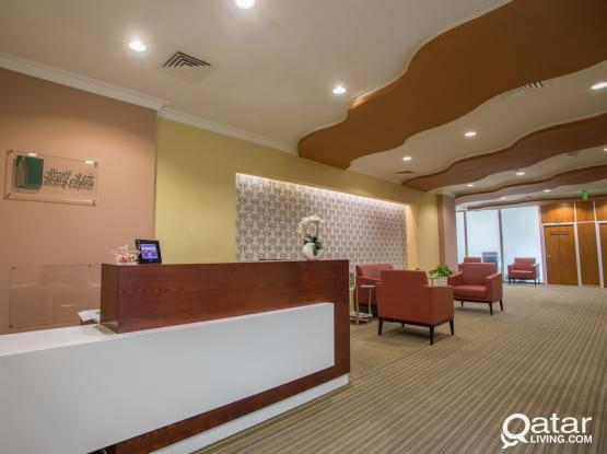 Great Office Space Fully Furnished + Trade License