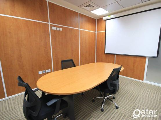 Office Space 12 SQM+2 Months Free+Fully Furnished+Trade License.