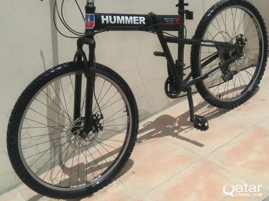 Hummer folding bicycle