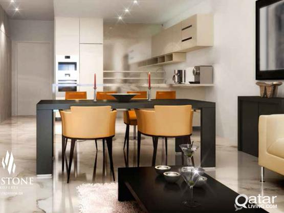 No Commission! Great Payment Plan, FF 1BR Apt in Lusail