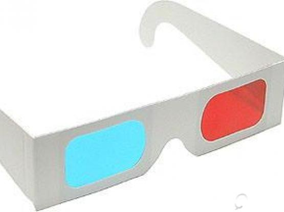 3D Glasses (Red & Cyan)