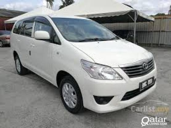 TOYOTA INNOVA FOR RENT (SPECIAL OFFER)