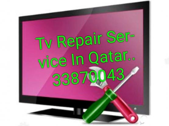 Tv  Electronics Items Repair Service In Qatar