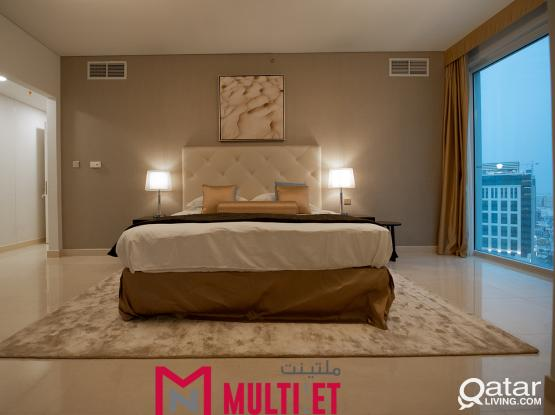 Luxurious 3- Bedroom Apartment in Lusail