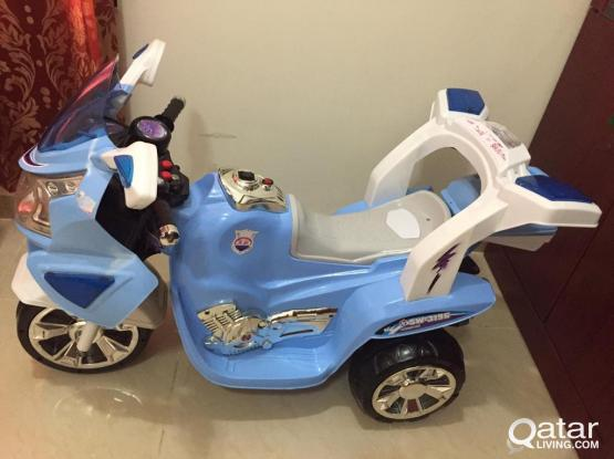 Rechargeable BIKE for KIDS