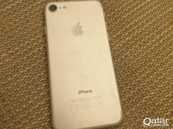iPhone 7 256gb silver. Great condition