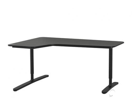Office computer desk from ikea
