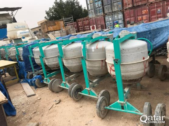 CONCRETE MIXER AND MARBLE CUTTER (MADE IN ITALY)